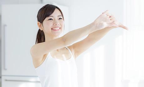寝たまま体幹トレーニング